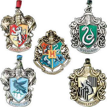 Hogwarts and House Crest Ornaments |