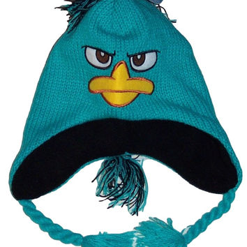 Disney Phineas and Ferb Phineas Mohawk Laplander Beanie Knit Hat  NWT