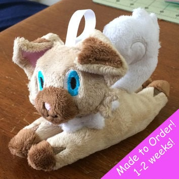 Iwanko Handmade Custom Keychain Plush ! Pokemon Sun and Moon!
