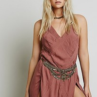 Free People Womens Newsha Metal Belt