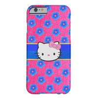 Cute Pink Sparkles Hello Kitty iPhone Case