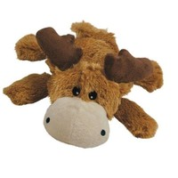 KONG Cozie Marvin the Brown Moose Dog Toy Sz: Medium 1ct
