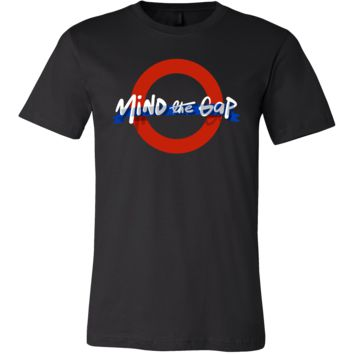 London Underground Funny Mind The Gap UK T Shirt