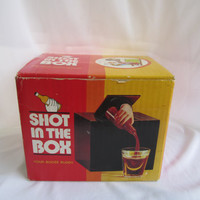 Bar Accessories Decor Shot In The Box Your Booze Buddy The Pour Mans Butler 1975 Rare Toys Mechanical Bartender