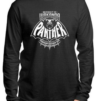Panther Full Sleeves Black T-shirt
