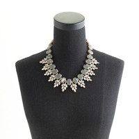 Crystal leaves statement necklace - necklaces - Women's jewelry - J.Crew