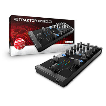 Native Instruments: Traktor Kontrol Z1 DJ Mixer / Controller / Interface