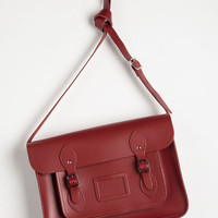The Cambridge Satchel Company Luxe, Urban, Scholastic Cambridge Satchel Company Bag in Red - 14 inch