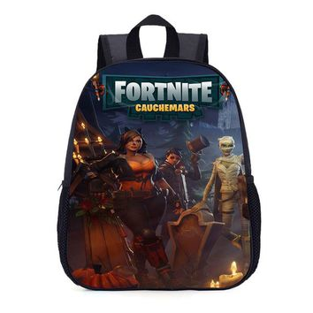 Boys bookbag trendy 2018 Kids Fortnite Figure School backpack bags Children Teen Boys Girls Pupil schoolbag  Cool Casual Pack Birthday Gifts AT_51_3