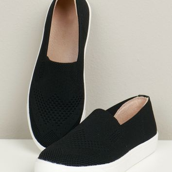 Everyday Slip On Sneakers Black