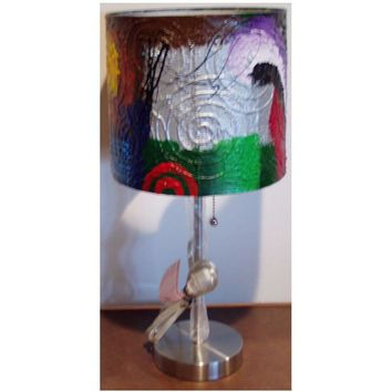 Hand Painted Lamp #12