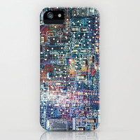 Circuitry iPhone Case by Sharon Johnstone | Society6