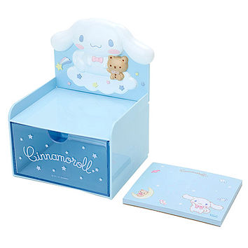 Buy Sanrio Cinnamoroll Memo Pad with Die-Cut Drawer Chest at ARTBOX