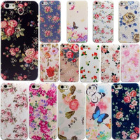 Floral Case Apple iPhone 5 5S 5G Cases iPhone5S iPhone5 Beautiful