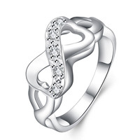 Twist Beautiful Silver Ring