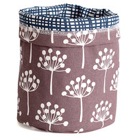 Soft Bucket, Florine Gray, Small, Storage Boxes & Bins