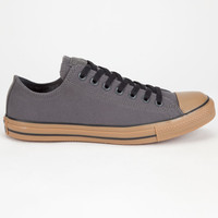 Converse Chuck Taylor All Star Low Gum Mens Shoes Charcoal  In Sizes