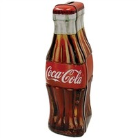 Coca-Cola Bottle Shaped Money Bank