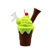 Silicone Waterpipe - Ice Cream Cone
