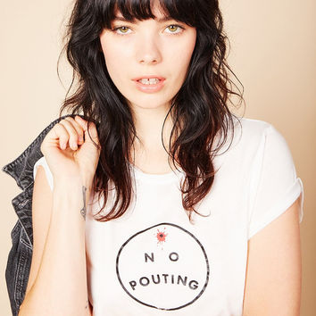 No Pouting Tee