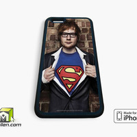 Ed Sheeran superman iPhone Case 4, 4s, 5, 5s, 5c, 6 and 6 plus by Avallen