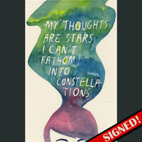 DFTBA Records :: SIGNED Thoughts Poster