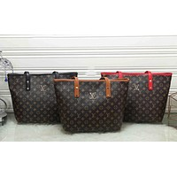 LV 2019 new tide brand female tote bag handbag shoulder bag Messenger bag