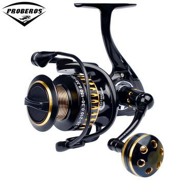 Aluminum Alloy Fishing Reel 11+1 BB Ball Bearings Type Line Cup Wheel for Saltwater Fishing 5.0:1 Spinning Reel 25KG Max Drag