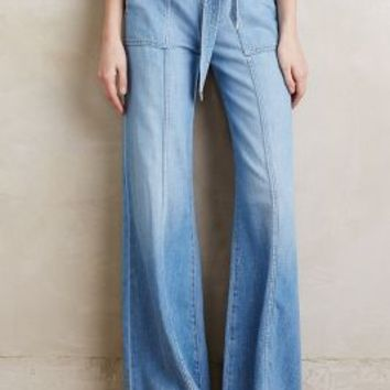7 For All Mankind Palazzo Jeans in Amalfi Size: