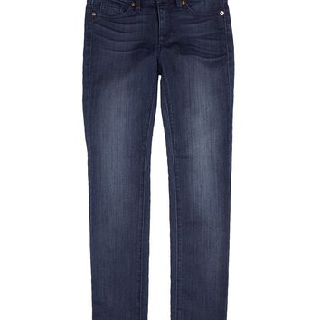 Denim Girls Five Pocket Faux Denim Sweat Pant by Juicy Couture,
