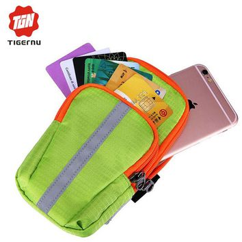 Tigernu Multi-Functional phone Bag Case Wallet  Arm Band Holder Bag For Phone men and women Arm bag for iPhone 4 4s 5 5s 6 6s