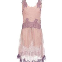 Browns fashion & designer clothes & clothing | MEADHAM KIRCHHOFF | Exclusive: handmade silk lace dress