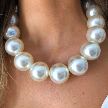 Perfect In Pearls Necklace: Pearl