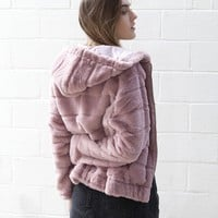 isabelle's cabinet Thin Ice Pink Jacket