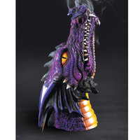 Purple Dragon Incense Burner - Women's Clothing & Symbolic Jewelry – Sexy, Fantasy, Romantic Fashions