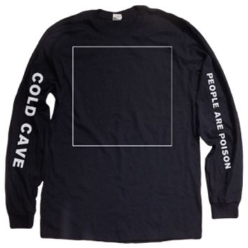 "Deathwish Estore: Cold Cave ""Oceans With No End"" Longsleeve T-Shirt"