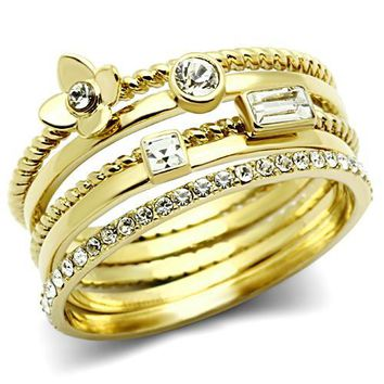 Roda Gold Rings Set