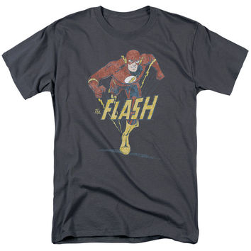 DC Originals Desaturated Flash Adult T-Shirt