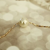 Simply Beauty Pearl Necklace