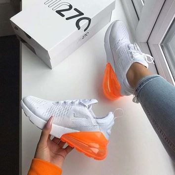 Nike Air Max 270 Women Men Sport Running Shoes