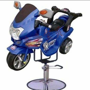 Kids Hair Cut in Style barber chair Motorcycle Awsesome