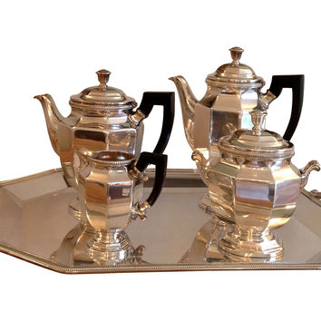 Christofle Silverplate Tea Service, 5 Pc
