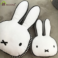 HAKOONA Explosion Rabbit Pillow Meng Rabbit Children Placate Dolls Cotton Bunny Cushions Baby Photographed Props Easter