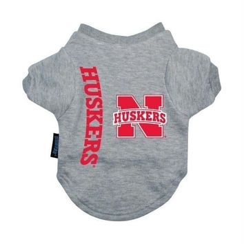 Nebraska Huskers Pet T-Shirt