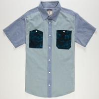 Burton Gilman Mens Shirt White  In Sizes