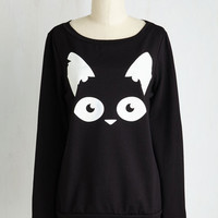 Cats Mid-length Long Sleeve Are Mew Afraid of the Dark? Top