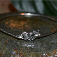 Koi Fish Bangle Bracelet, Fish Bangle, Silver Koi Fish, Fish Jewelry, Koi Jewelry, stacking bangle, stacking bracelet, Pieces Jewelry