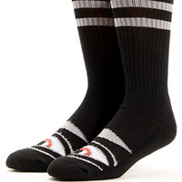 Toy Machine Sect Eye Black Crew Socks