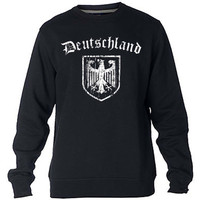 DEUTSCHLAND Germany Eagle Crest Sweatshirt Sweater Crewneck Men or Women Unisex Size