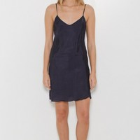 Organic by John Patrick Bias Slip Dress in Navy | The Dreslyn